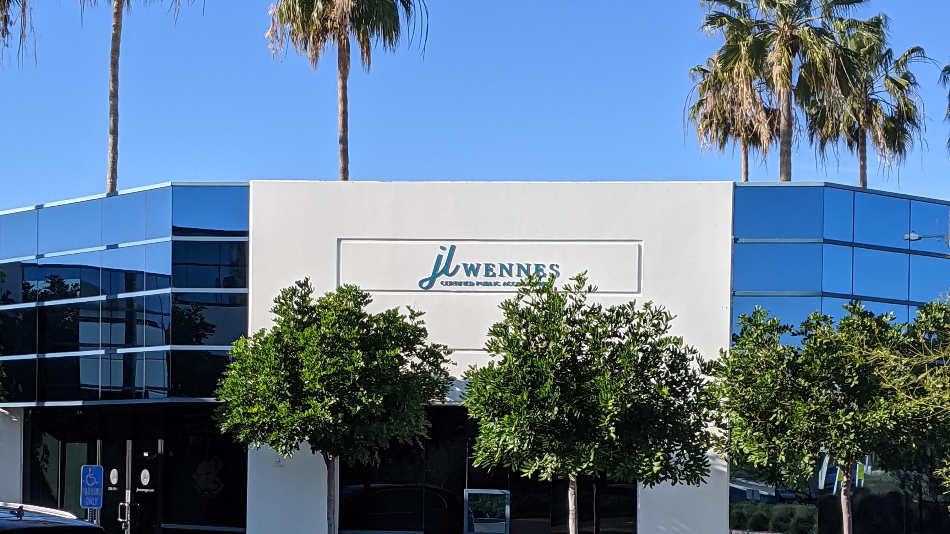 JL Wennes CPA Office Carlsbad, CA